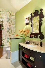 summer trend 25 dashing powder rooms with tropical flair