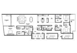 Waterfront Floor Plans Adagio Fort Lauderdale Beach Floor Plans Luxury Waterfront Condos