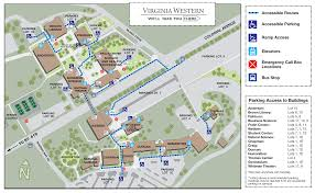 Western Washington University Campus Map virginia western campus map virginia map