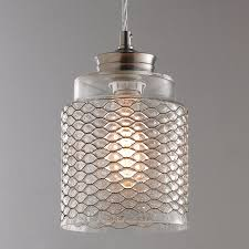 Crackle Glass Pendant Light by Glass Pendant Lights Clear U0026 Colorful Glass Shades Of Light