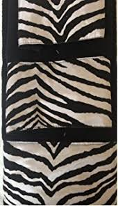 Amazon Bathroom Accessories by Amazon Com 17 Piece Bath Accessory Set Black Zebra Shower