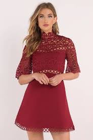 skater dresses fit and flare white black long sleeved lace