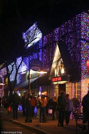 Rochester Michigan Christmas Lights by Where I Live Dazzling