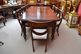 Antique Victorian  Ft Mahogany Dining Table And  Chairs At Stdibs - Mahogany kitchen table