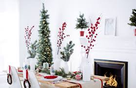 holiday party decor red white u0026 wreaths bright bazaar by will taylor
