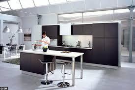 ilot cuisine avec table cuisine ouverte avec ilot table 20770 sprint co