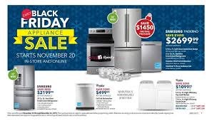 dryer sales black friday best buy canada early black friday flyer deals 2015 appliance