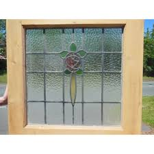 ext 112 1930 u0027s edwardian original stained glass exterior door
