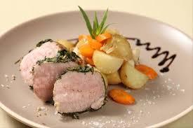 cuisiner un filet mignon de porc en cocotte recette de rosette de filet mignon de porc à l estragon et moutarde