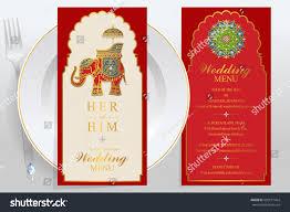 menu card templates wedding menu card templates gold patterned stock vector 550517464