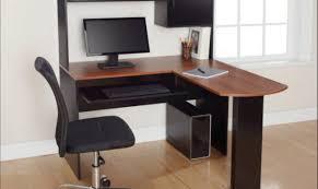 thrilling illustration of big wooden desk shocking oak computer
