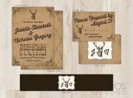 buck and doe invitations deer wedding invitations plumegiant com