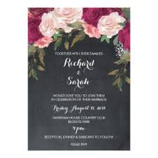 wedding invitations burgundy burgundy wedding invitations announcements zazzle