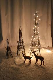 tree decorated wire eiffel tower gift interior l