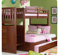 Discovery Bunk Bed Discovery World Furniture Merlot Staircase Mission Bunk Bed