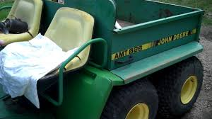 john deere amt 626 and kawaski 175 youtube