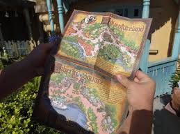 Magic Kingdom Disney World Map by Sorcerers Of The Magic Kingdom Play Testing Reveals Map Cards