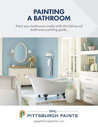 What Kind Of Paint For Bathroom by Bathroom Colors How To Paint A Bathroom