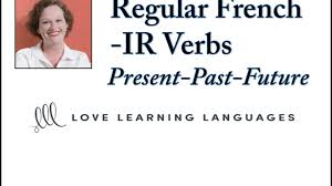 French Er Ir Re Verbs Worksheets Regular French Ir Verbs Present Passé Composé And Futur Simple