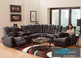 Sectional Sofa In Living Room by Matrix 7 Pc Laf Sectional Coffee Sectionals Living Room