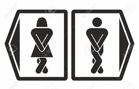 Man Woman Bathroom Symbol Man And Women Toilet Icons Royalty Free Cliparts Vectors And