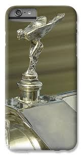 rolls royce spirit of ecstasy ornament in gold iphone 7 plus