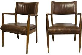 mid century leather chair mid century leather chairs omero home