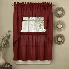 Lorraine Curtains Kitchen Tier Curtains Ribcord Kitchen Curtains By Lorraine Home