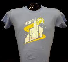 chicago sky store blue sky logo youth t shirt