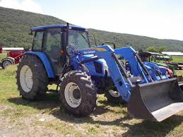 2007 new holland agriculture tl100a series tractor for sale in