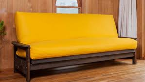 Sofa Bed Mattress Protector by Coloured Cotton Futon Cover Natural Beds