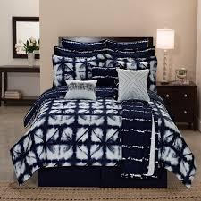 Tie Dye Comforter Set Tie Dye Plaid Printed Reversible 12 Piece Comforter Set Free