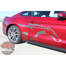 decals for ford mustang ford mustang steed pony side door vinyl graphic decals