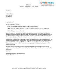 donation letter sample crna cover letter