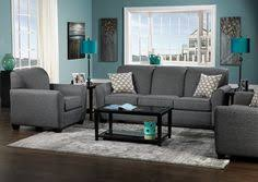 Dark Gray Living Room Furniture by Charcoal Gray Sectional Sofa Foter For The Apartment
