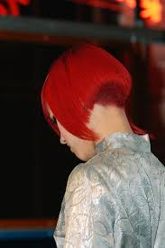 redhair nape shave hairxstatic short back bobbed gallery 2 of 6