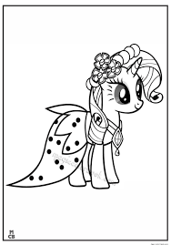 magic my little pony coloring book free printable coloring pages