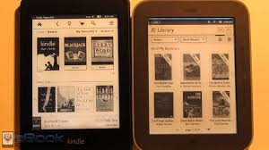 kindle books on nook color kindle paperwhite vs glowlight nook touch comparison review youtube