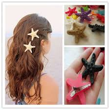 starfish hair clip 12pcs lot wholesale starfish hairclip girl s hair accessories