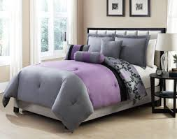 Purple And White Duvet Covers Bedding Set White Comforter Bedroom Awesome Plain Grey Bedding