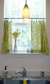 kitchen finish off your kitchen decor with stunning curtain