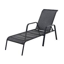 Cheap Plastic Stackable Chairs by Chaise Garden Treasures Bay Wicker Patio Chaise Lounge Chair