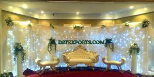 Wedding Stage Chairs Muslim Wedding Stage Decoration Photos South Asian Wedding Decor