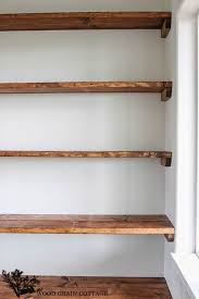 nice idea how to build wooden shelves magnificent ideas ana white
