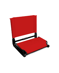 Cushioned Bleacher Seats With Backs The Gamechanger Stadium Chair Tsf Sportswear