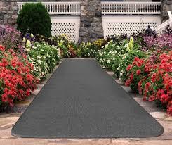 Outdoor Carpet Runners Home Depot Amazon Com Outdoor Carpet Runner Gray 4 U0027 X 20 U0027 Many Other