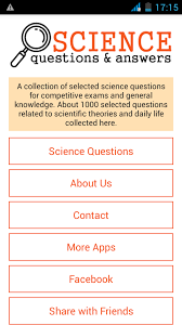science questions answers android apps on play