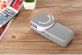 Desk Top Air Conditioner 2 Pcs Lot Smile Silence Desktop Air Conditioner Usb Fan