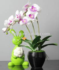 Cheap Small Flower Pots - high qualiry real touch cheap small orchid flower pots for indoor