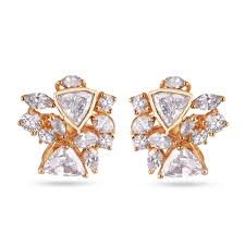 diamond earrings online fancy cut diamond earrings online gold diamond earring
